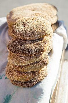 Pretzel Bun, Bread Art, Cooking Recipes, Healthy Recipes, Greek Recipes, Pain, Food To Make, Food Processor Recipes, Bakery
