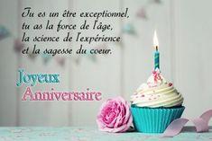 Joyeux anniversaire - Joliecarte.com Birthday Candles, The Cure, Electronic Cards