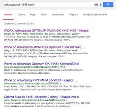 Content is King? Google don't lie, please. Check first and second place. | Treść jest Królową? Google nie kłam, proszę. Sprawdź pierwsze i drugie miejsce w SERP. #google #serp