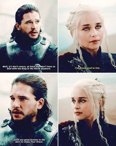game of thrones [ 7x05 - Eastwatch] — #Jonerys #JonSnow #daenerystargaryen