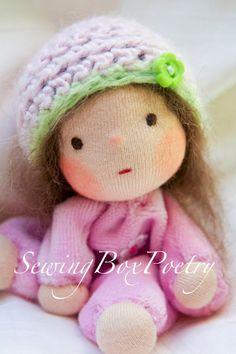 RESERVED FOR TERESA - Waldorf doll -  Waldorf inspired Baby Doll- Waldorf baby doll