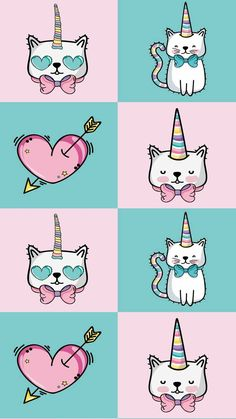 Wallpaper unicorn cat 38 Ideas for 2019 Unicornios Wallpaper, Kawaii Wallpaper, Cute Wallpaper Backgrounds, Wallpaper Iphone Cute, Animal Wallpaper, Cartoon Wallpaper, Pattern Wallpaper, Wallpaper Pink Cute, Unicorn Wallpaper Cute