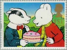 ◇UK  1993    Bill Badger and Rupert Bear