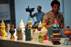 Design Museum Designers in Residence 2013 - Adam Nathaniel Furman 3D prints by Lee 3D