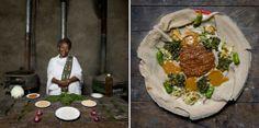 Wat koken oma's in andere landen? Ethiopië (injera met kerrie en groenten)