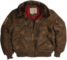 Куртка Injector Alpha Industries (коричнева) Розміри: під замовлення Ціна: 206 $