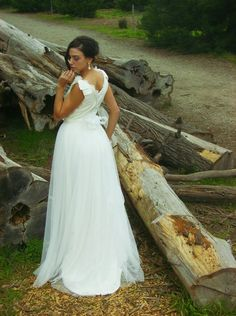 The JOY Dress by Amy-Jo Tatum//Makeup and Hair by bun Bun Do Bridal Lab///Jewelry by Novio Blanca