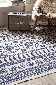 Plum & Bow Euphrates Printed Rug | UrbanOutfitters.com: Awesome stuff for you & your space