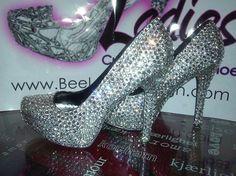 Dazzling Diamond Shoes