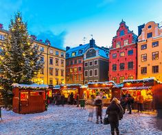Stockholm Christmas Market #EuropeanChristmasMarkets #holidayshopping