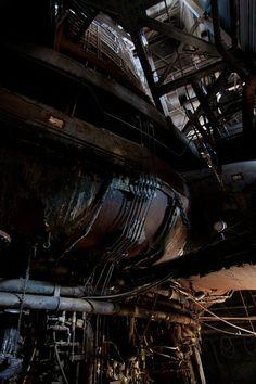 Bethlehem Steel Abandoned | Curvature - Bethlehem Steel Mill at Opacity: Abandoned Photography