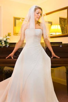 Angela Wearing Emma Roy Of Edinburgh Brian Wilson Wedding Photographer