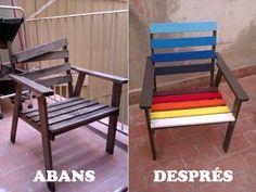 DIY: Cadira per la terrassa