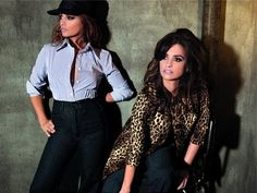 Penelope and Monica Cruz for Mango