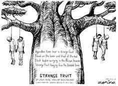Zapiro: Anti-gay laws:Uganda's strange fruit - The Mail & Guardian Poetry Magazine, Strange Fruit, Baobab Tree, Screech Owl, Greys Anatomy Memes, Billie Holiday, Speed Dating, American Horror Story, Led Zeppelin