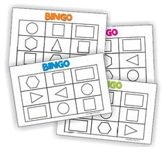 3 activities and 5 videos to help teach 2D shapes - KindergartenWorks