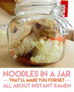 Mee Mama's noodles | healthy conscious cousin, and office friendly, too!
