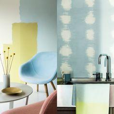 tendência decoração camadas mais camadas sobreposição de cor cama