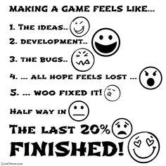 Making a game feels like... #gamedev #indiedev