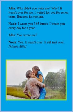 <3 The Notebook. favorite part of the movie!