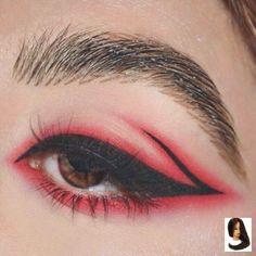 Make Up Looks; Schweres Make-Up; Licht Make-up, Lidschatten; Make up looks; Colorful Eye Makeup, Pink Makeup, Cute Makeup, Kawaii Makeup, Awesome Makeup, Black Makeup, Blue Eye Makeup, Makeup Set, Eyeshadow Makeup