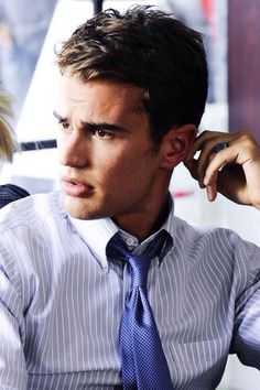Shirt and tie! Something so cool about a nice shirt and tie! Us men carry it well!