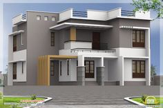 modern house plans uk with paint for house exterior ideas with exterior house paint satin or flat for kerala home design with floor plans House Plans Uk, Acadian House Plans, Modern House Plans, Style At Home, Modern Style Homes, House Design Photos, Modern House Design, Modern Exterior, Exterior Design