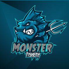 Design Vector, Logo Design, Underwater Animals, Cactus Planta, Background Images For Editing, Esports Logo, Mascot Design, Doodle, Symbol Design