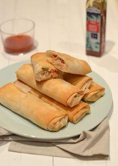How To: Loempia's uit de oven - Uit Paulines Keuken - Healthy egg rolls