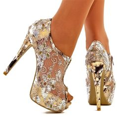 Cinderella - Leopard Platform High Heel Shoes Worldwide Shipping sold by AtomicBamboo. Shop more products from AtomicBamboo on Storenvy, the home of independent small businesses all over the world. High Heels Boots, Platform High Heels, Shoe Boots, Shoes Heels, Dress Shoes, Ankle Boots, Prom Heels, Sexy Heels, Fancy Shoes