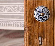Tiradores de ceramica manijas para puertas y cajones deco - Tiradores decorativos ...