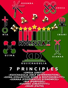 Birthday Supplies, Party Supplies, Diy Kwanzaa Decorations, 7 Principles Of Kwanzaa, Christmas Gift Exchange Games, Celebration Images, Happy Kwanzaa, Wow Products, Christmas Photos