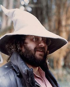 Peter Jackson wearing Gandalf's hat. Your argument is invalid.