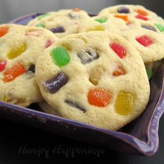 These soft, buttery Gumdrop Cookies studded with sugar-coated candies are perfect for any holiday dessert table and are sure to stand out from the rest!
