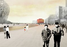 Gallery of National Art Museum of China competition entry / OMA - 3