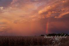 double rainbow sunset  award-winning photography by Beauty Unfurled www.beautyunfurled.com