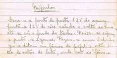 As Receitas da Avó Helena e da Avó Eduarda: Beijinhos (Kisses)