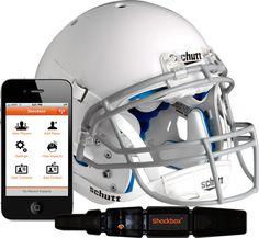 Shockbox+Football+Helmet+Impact+Alert+Sensor