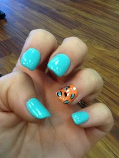 New leopard mint and mango my fav colors