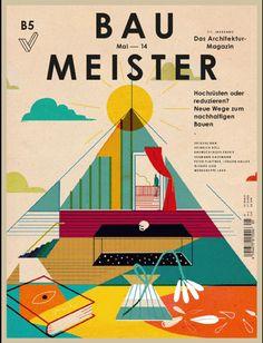 Baumeister. Nº 5 - 2014. Mai 2014. Neue Wege zum nachhaltigen Bauen.  Sumario: http://es.zinio.com/www/browse/issue.jsp?skuId=416301296&prnt=&offer=&categoryId=cat1960040 Na biblioteca: http://kmelot.biblioteca.udc.es/record=b1179681~S1*gag