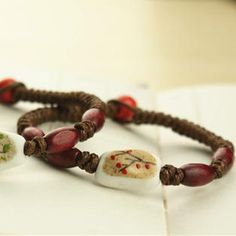 Cherry Blossom Tribal Bracelet