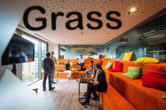 presentatieruimte, multifunctioneel bruikbaar.  Google kantoor in Dublin