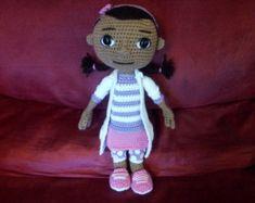 Doc McStuffins crochet pattern