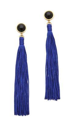 Lizzie Fortunato Jewels High Noon Tassel Earrings