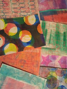 A good read! Gelli Printing Q & A by the Journal Junkie - Felicia Borges