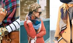 62 Fashionable Ways to Rock a Blanket Scarf