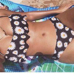 Daisy bikini! So cute!
