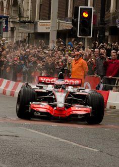 Jenson Button Mclaren Manchester