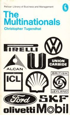 The Multinationals (Pelican Book) - Book Cover Design, Patrick McCreeth
