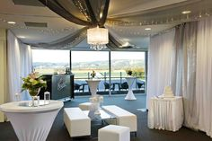 Cocktail Wedding Reception at Nandina Function Rooms, Majestic Roof Garden Hotel. Adelaide, South Australia.